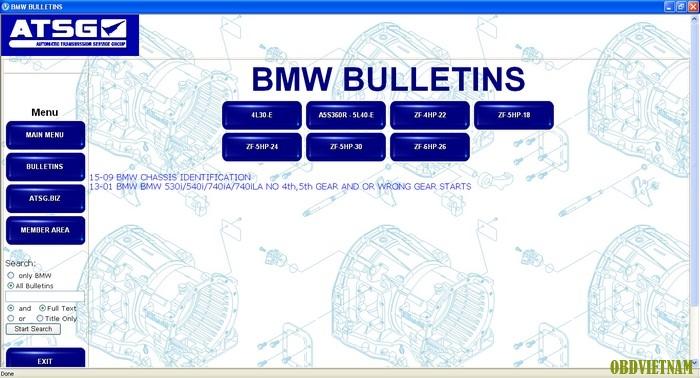 Dòng hộp số BMW