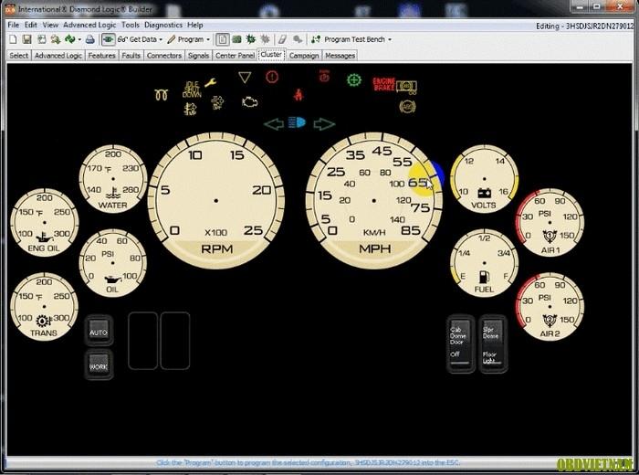 Phần Mềm Chẩn Đoán Hệ Thống Điện Diamond Logic Builder - DLB
