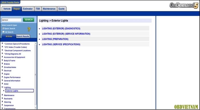 Tra cứu hệ thống chiếu sáng