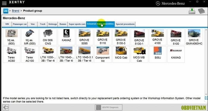 Các dòng xe công trình và chuyên dụng