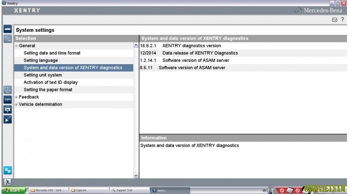 Phần mềm chẩn đoán Mercedes Benz Star C3/C4 phiên bản mới nhất 2014