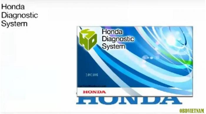 Phần mềm chẩn đoán  Honda HDS Phiên bản 2016
