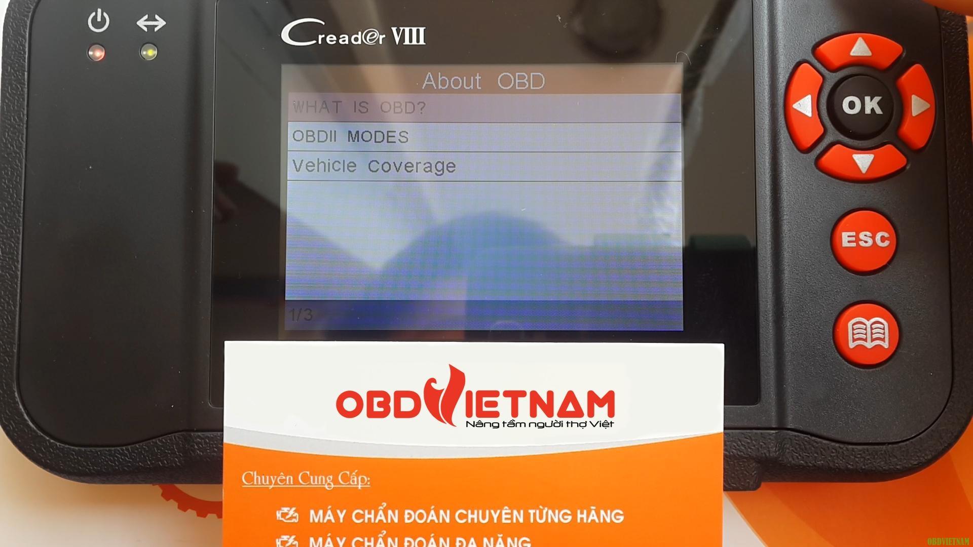 Máy Chẩn Đoán Đa Năng Launch Creader VIII