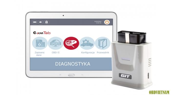 G-scan Tab Sử dụng trên Table hoặc máy tính