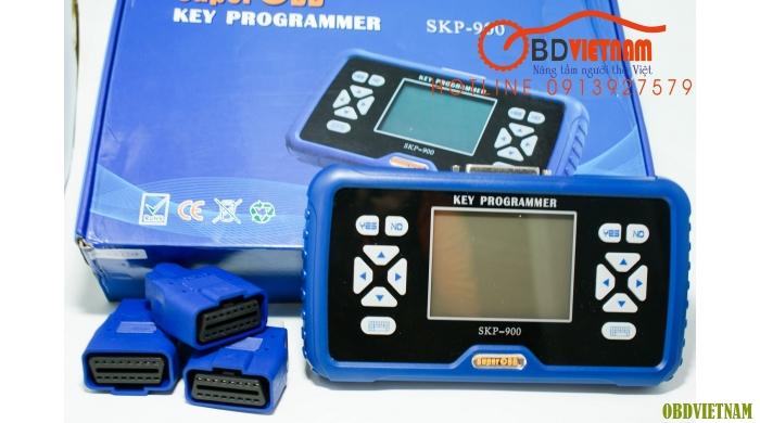 Thiết bị lập trình chìa khóa đa năng cầm tay SuperOBD SKP900 2016
