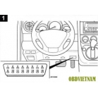 Bảng mã lỗi (phần 11) thông tin mã lỗi Honda CR-V 2.4L