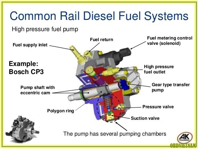 Tiếng anh ô tô qua hình ảnh - Hệ thống Common Rail