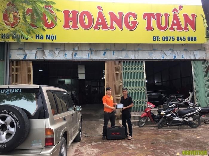 OBD Việt Nam Chuyển Giao Máy Chẩn Đoán Đa Năng Autel MaxiSys MS906 tại Nam Định