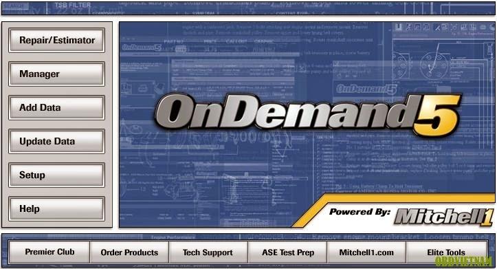 Phần mềm tra cứu sửa chữa ô tô OnDemand 5