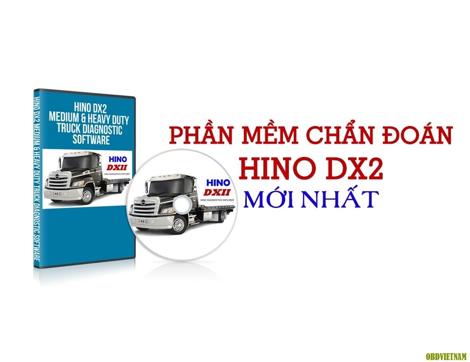 Phần Mềm Chẩn Đoán Hino DX2 Mới Nhất 2018