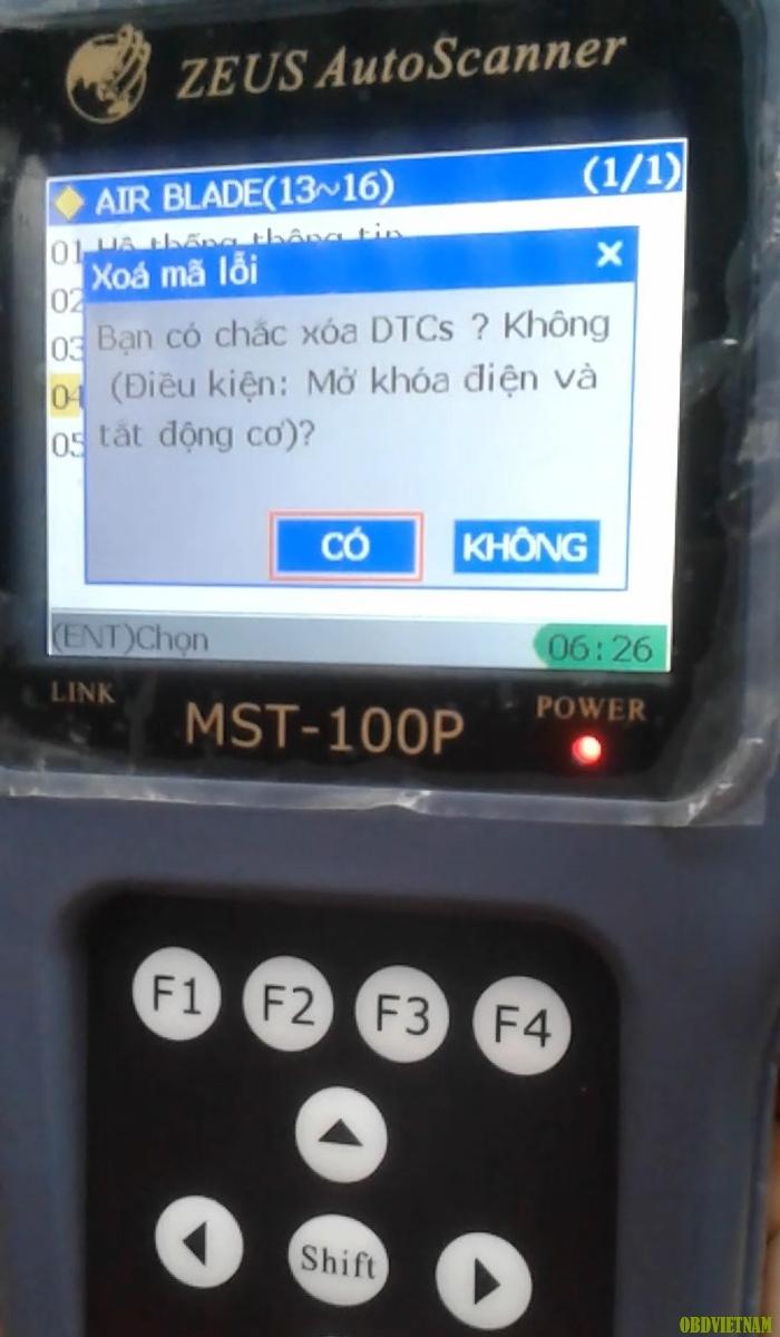 Máy Chẩn Đoán Lỗi Xe Máy MST 100P