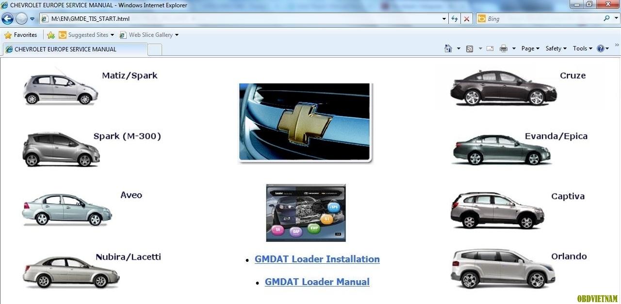 Phần mềm GM TIS