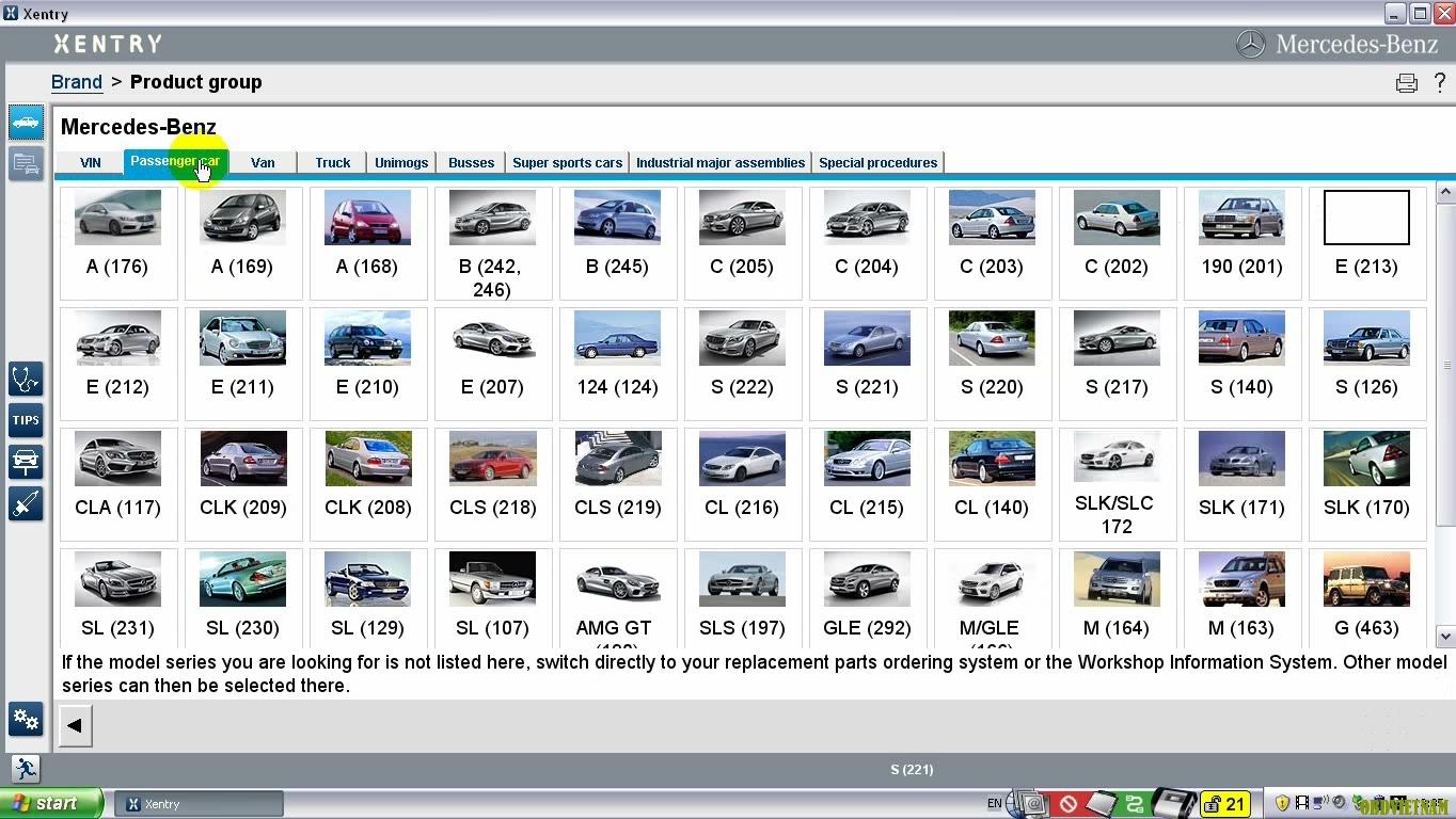 Thiết Bị Chẩn Đoán Chuyên Hãng Mercedes-Benz Star C4